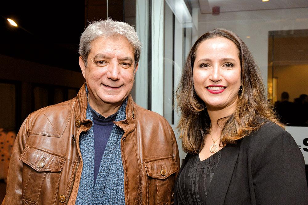 Chraibi et Mounya Dinar