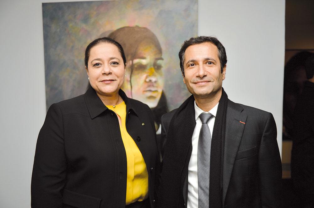 Mohamed Benchaaboun et Miriem Bensalah Chaqroun