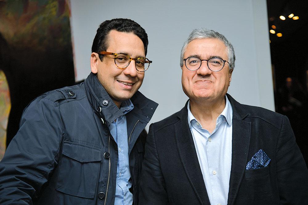 Rafik Lahlou et Jamal Harouchi