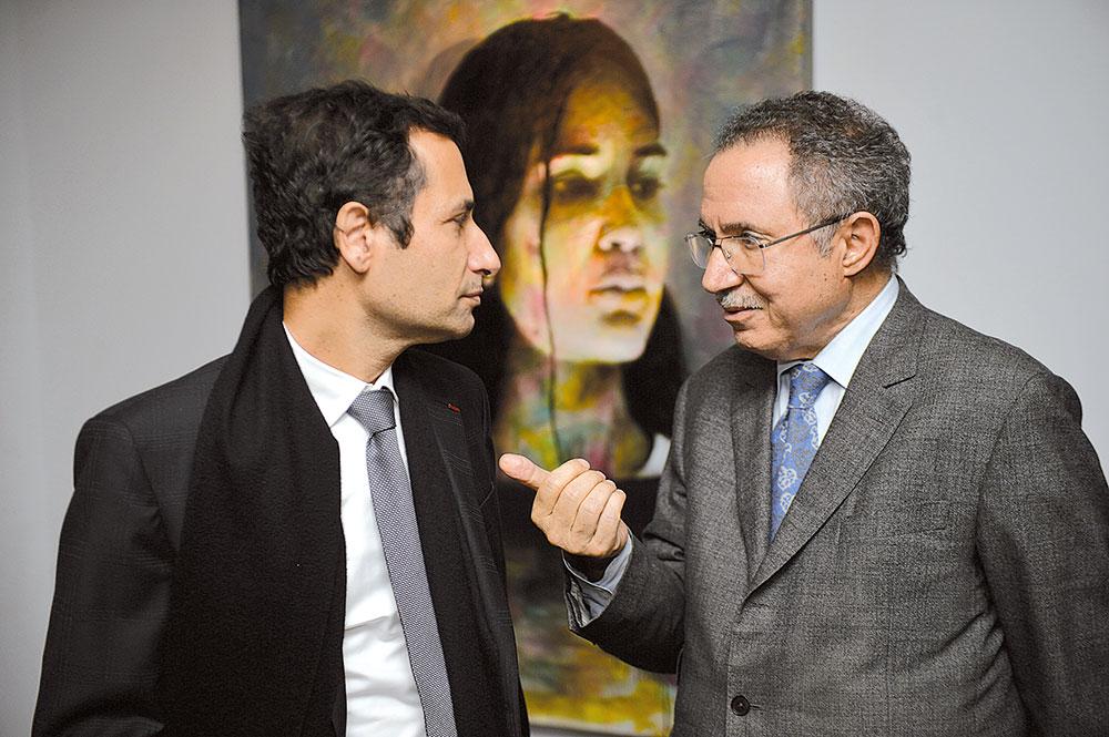 Mohamed Benchaaboun et Mohamed Alami Nafakh-Lazrak