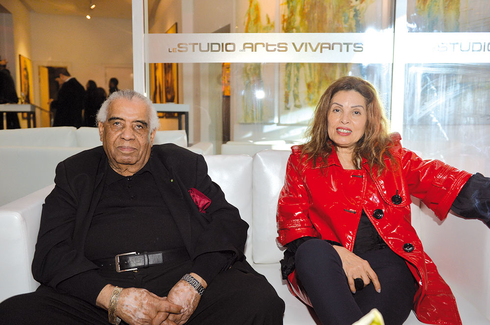 Houssein Talal et Rabiaa Laroussi