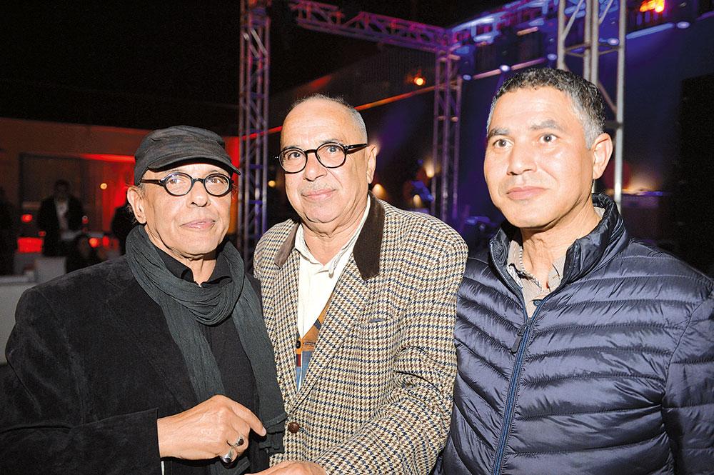 Abdellah El Harriri et Hassan Bourkia