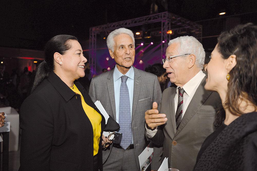 Miriem Bensalah Chaqroun, Mustapha Zine et Noureddine Ayouch