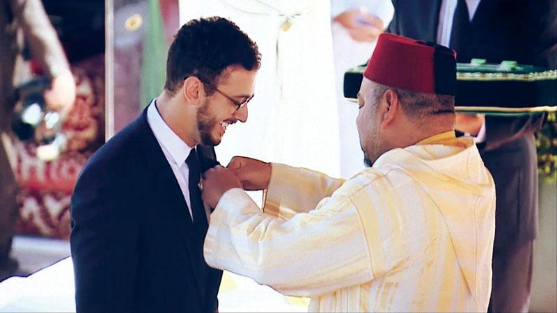 """""""Je suis l'homme le plus heureux d'avoir été décoré par Sa Majesté Le Roi Mohammed VI"""""""