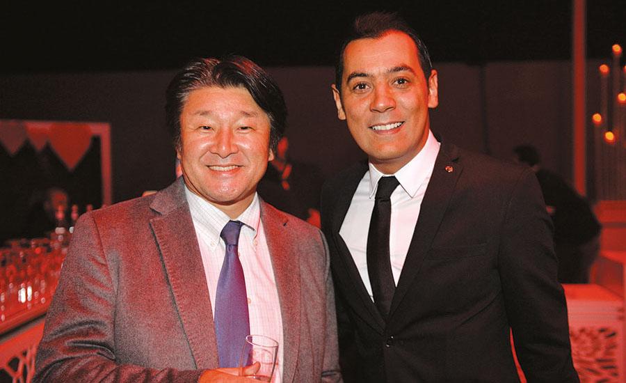 Isao Sekiguchi et M'Hamed Tazi
