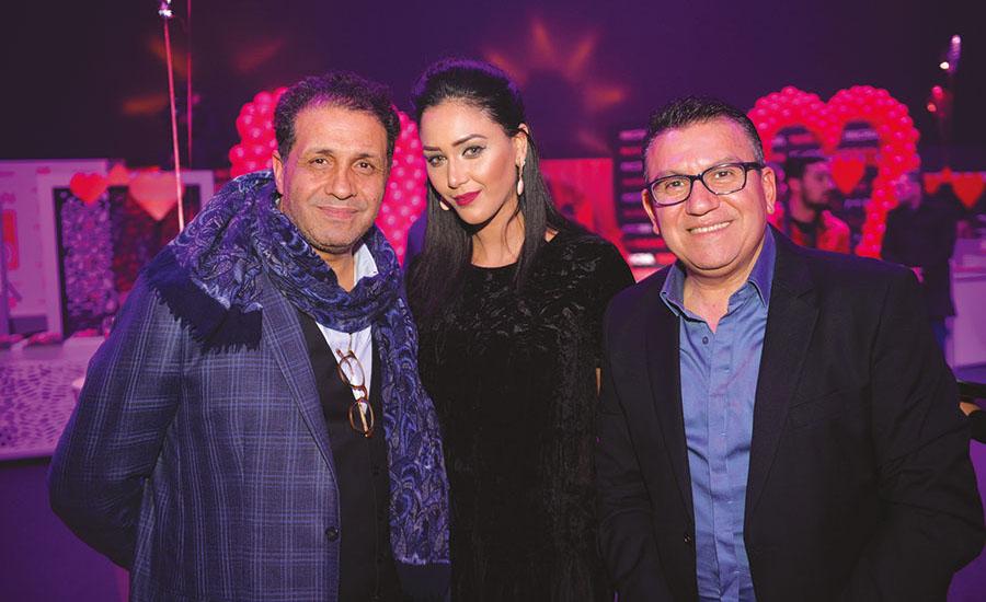 Noureddine Lakhmari, Yousra Lahlafi et Maxime Karoutchi