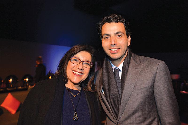 Monique El Grichi et Ezzoubeir Errhaimini
