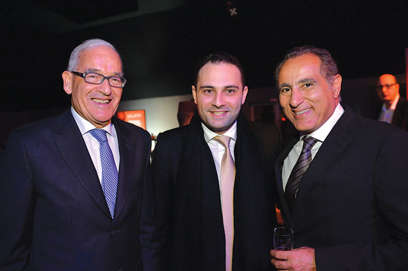 Mamoun Belghiti, Moulay Mhamed El Alami et Omar Tazi