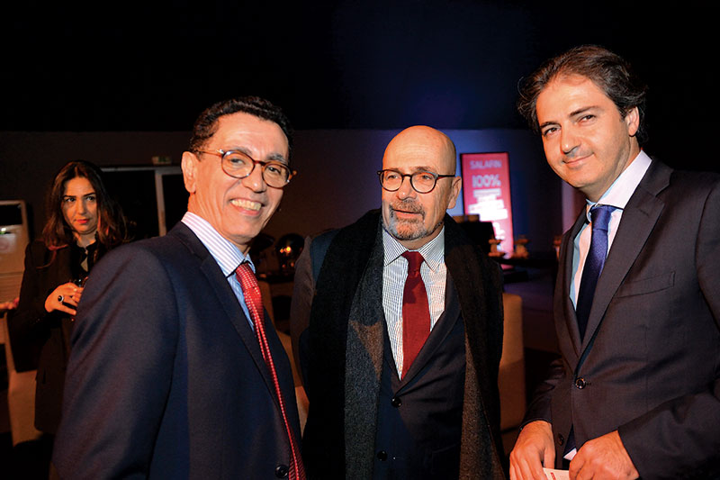 Amine Bouabid et Denis Germain