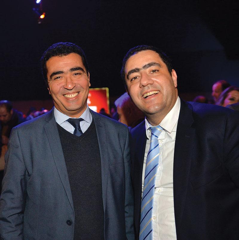 Abdelouahab Ennaciri et Fayçal Abbassi