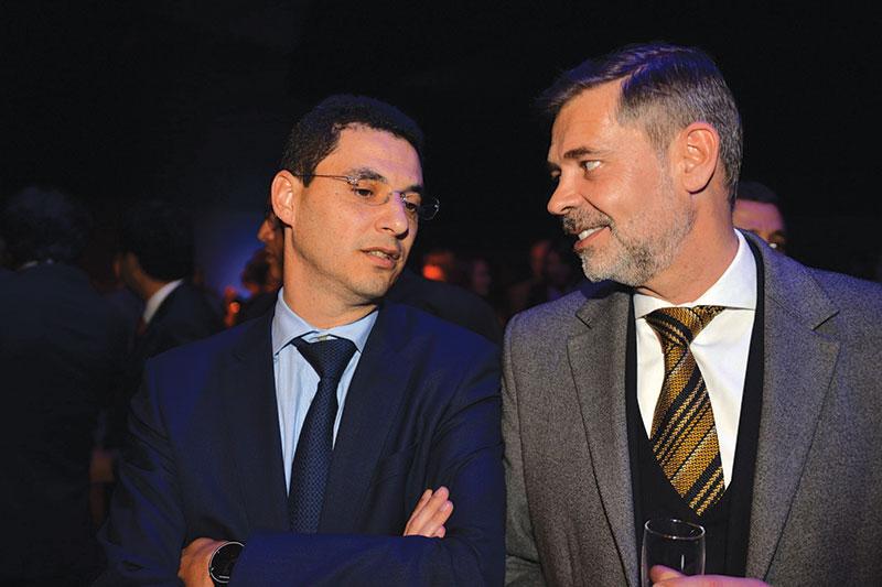 Omar Skalli et Yann Doléans
