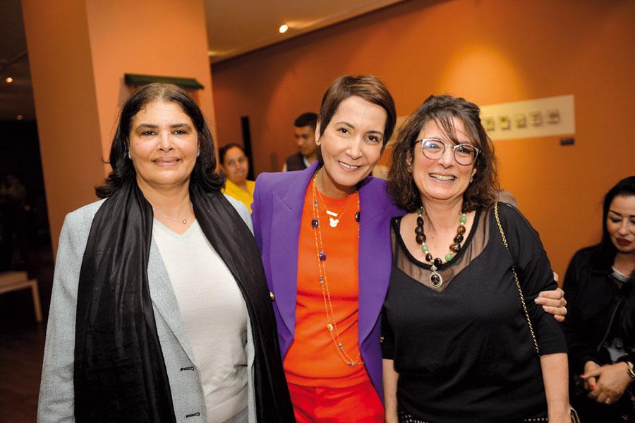 Mouna Kably, Myriem Tarik, Saloua Benmehrez
