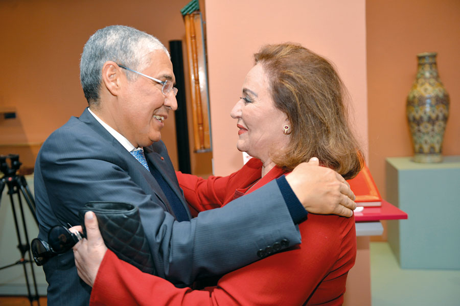 Khadija Sijelmassi et Mohamed El Kettani