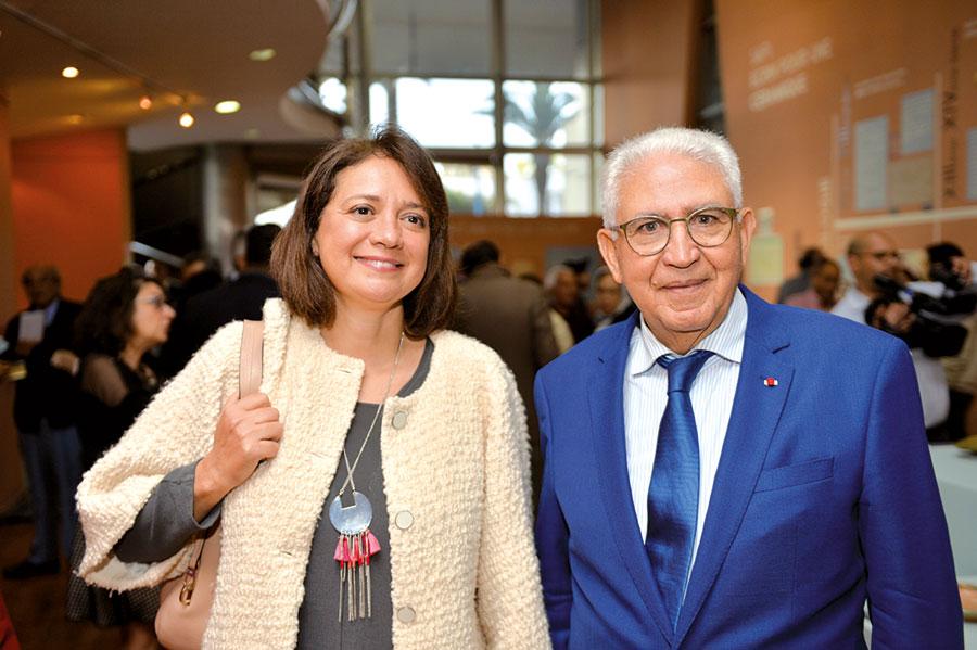 Leïla Mamou et Mohamed El Kettani