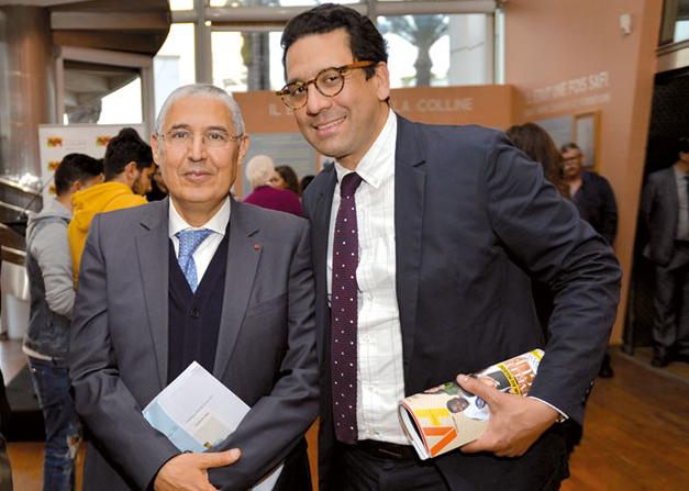 Mohamed El Kettani et Rafik Lahlou