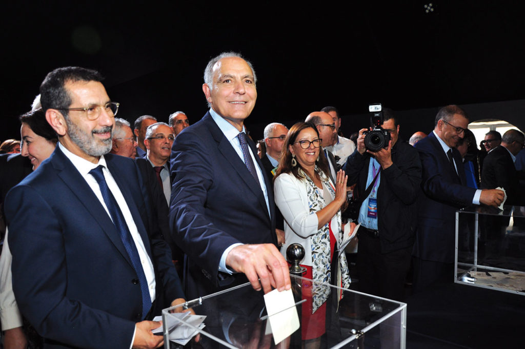 Faiçal Mekouar et Salaheddine Mezouar