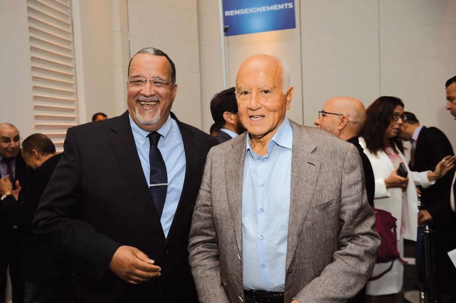 Faouzi Chaâbi et Hassan Chami