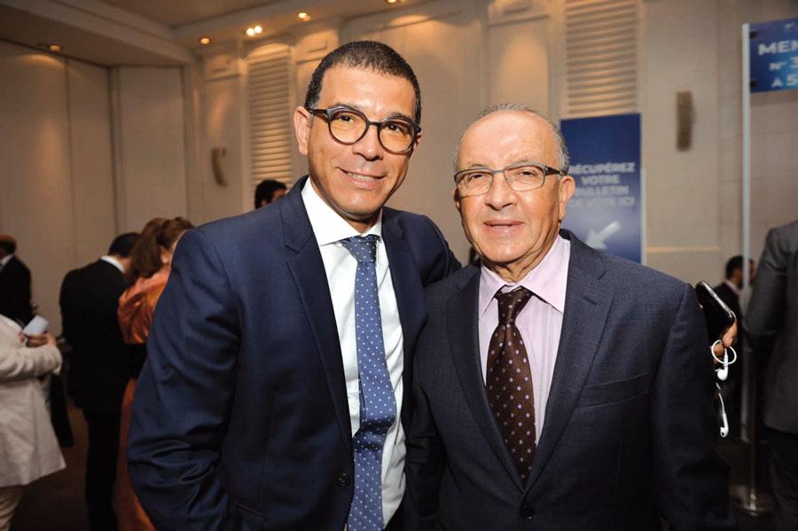 Khalid Dahami et Abdelhamid Souiri