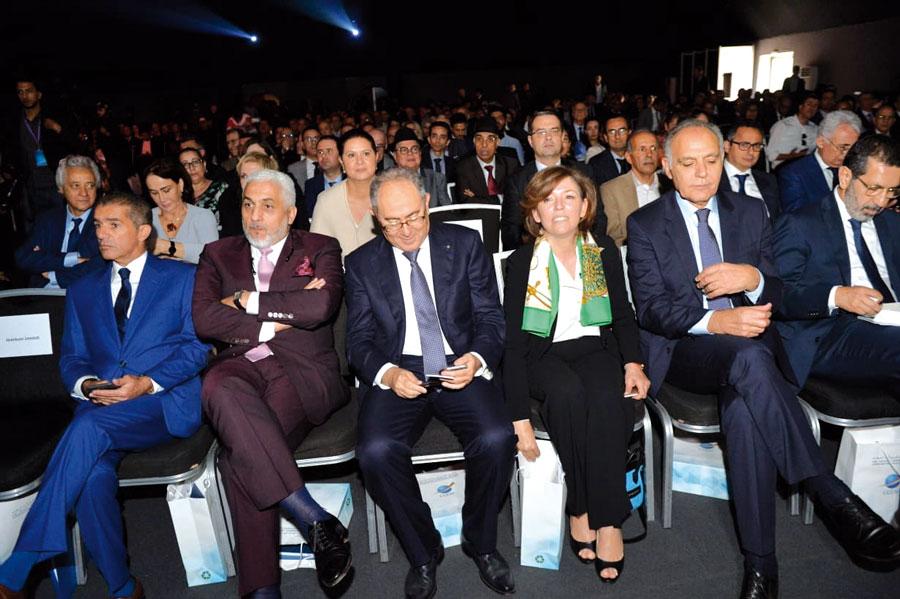 Jamal Chaqroun, Jamal Belahrach, Hakim Marrakchi, Assia Aiouch Benhida, Salaheddine Mezouar et Faiçal Mekouar
