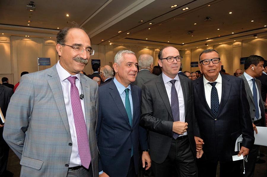Abdelkader Boukhriss, Said Mouline et Badre Kanouni