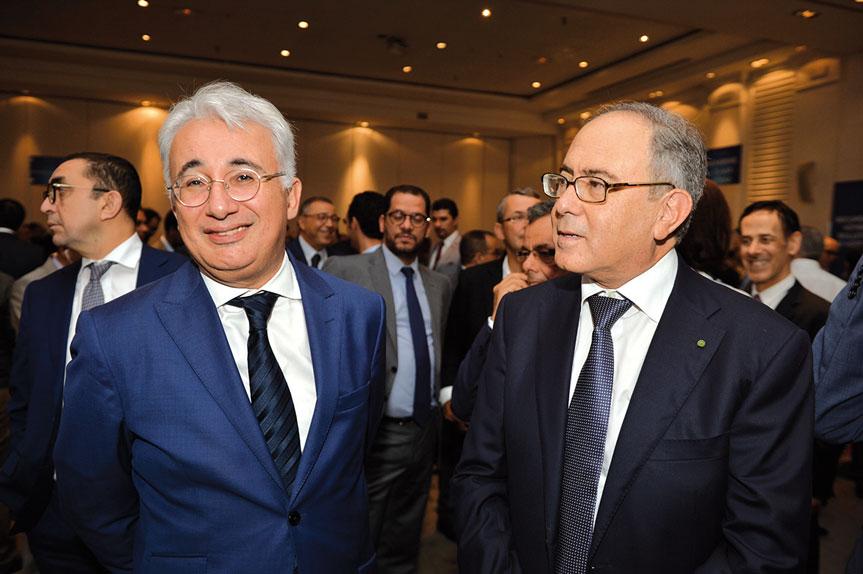 Ismail Fassi Fihri et Hakim Marrakchi •