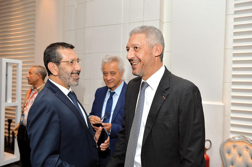 Faiçal Mekouar et Mohamed Hassan Bensalah