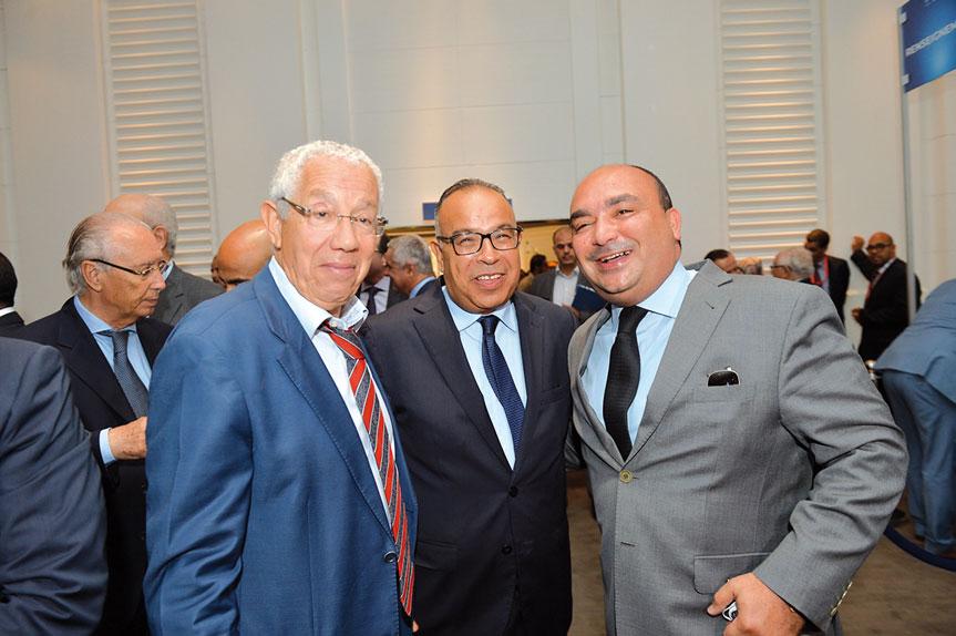Hamid Kessal et Moncef Belkhayat