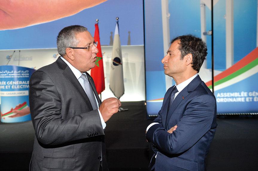 Salaheddine Kadmiri et Mohamed Benchaâboun