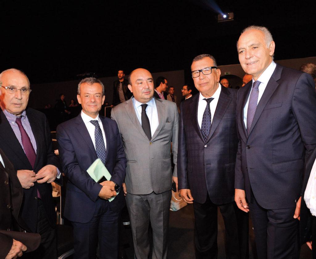 Hamid Kadiri, Samir Oudghiri Idrissi, Moncef Belkhayat, Kamal Lahlou et Salaheddine Mezouar •