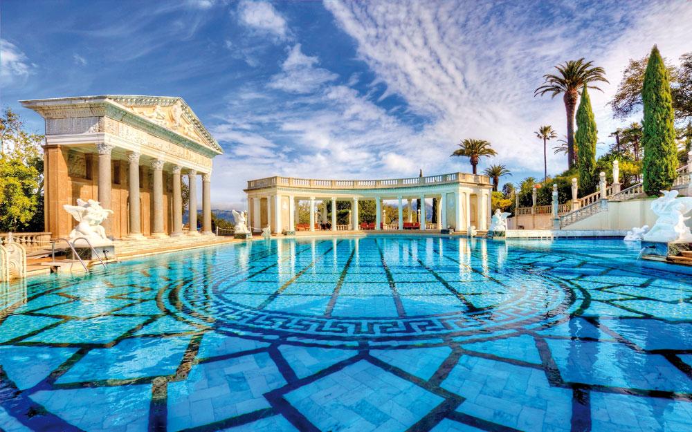 Hearst Castle Central Coast, Californie, USA ( 191 millions $ )