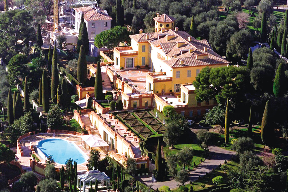 Villa Leopolda, Villefranche, Côte d'Azur ( 750 millions $ )