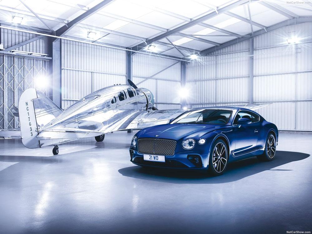 Ce coupé Bentley représente la quintessence du Grand Tourer.