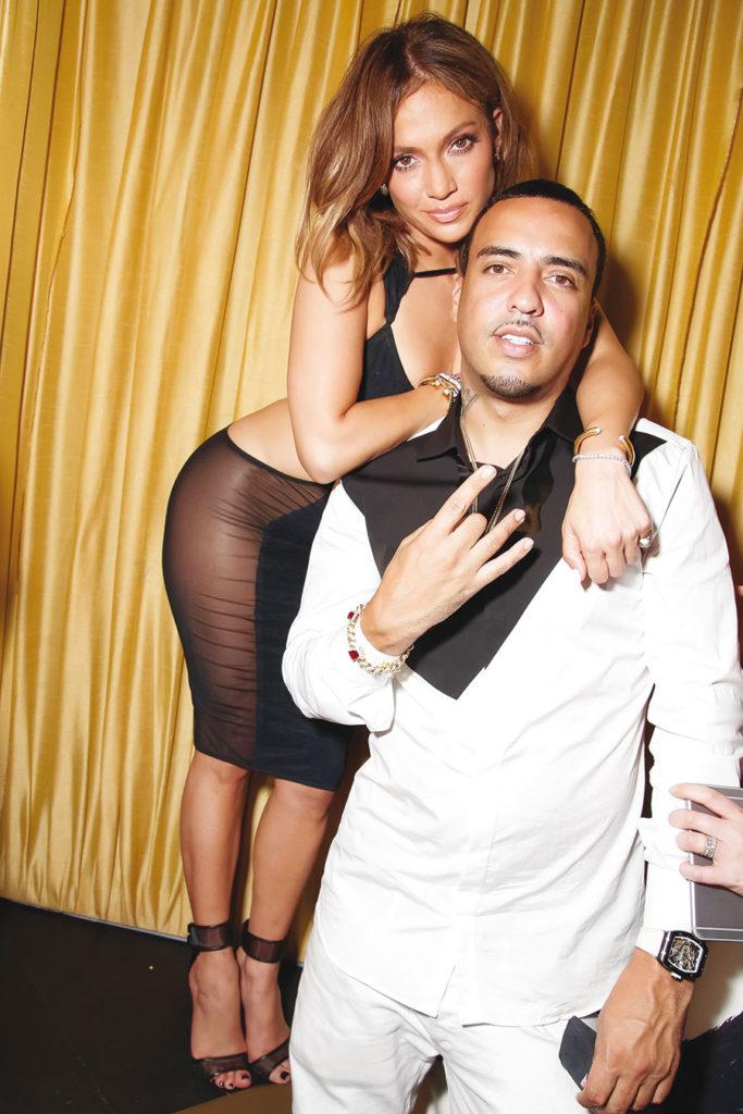 Avec Jennifer Lopez.