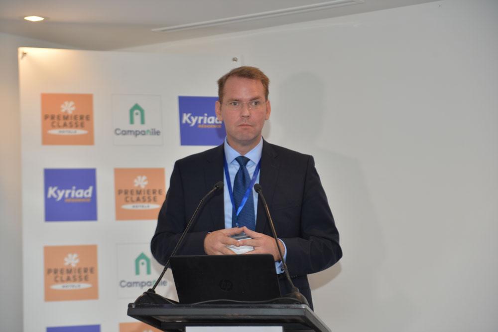Andreas Tscherning Chief Operating Officer International de Louvre Hotels Group
