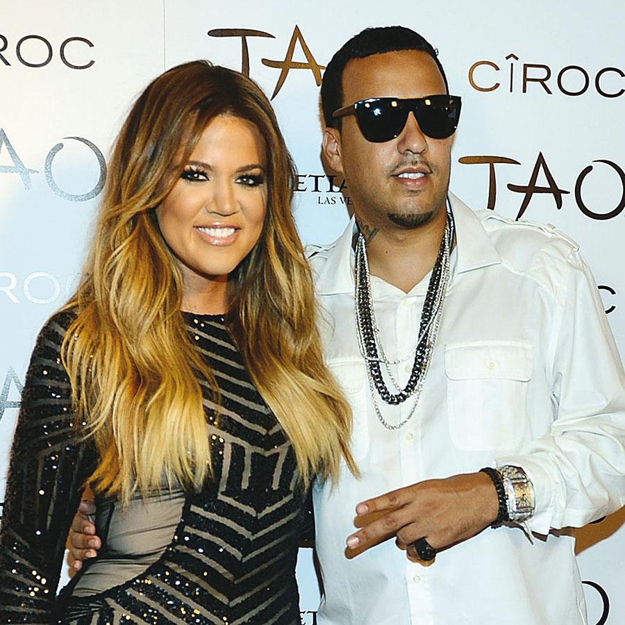 Avec Khloé Kardashian.