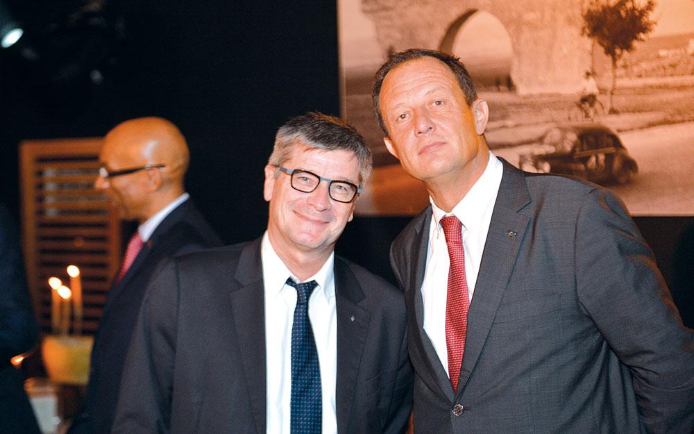Hervé Vialle et Éric Basset