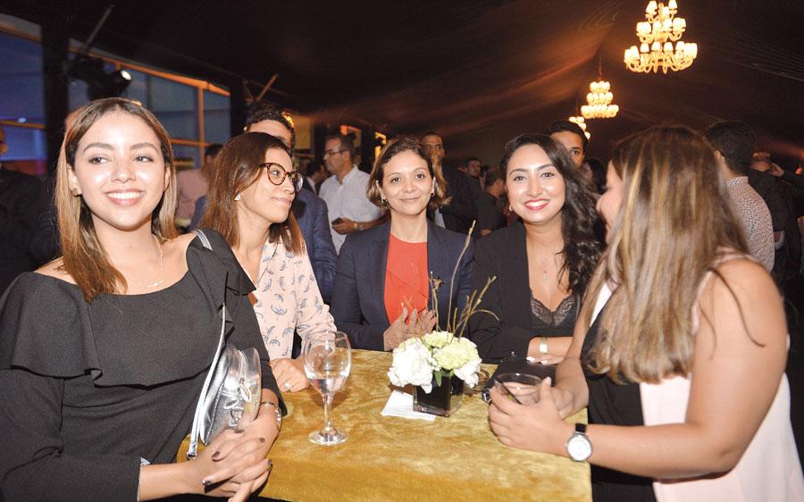 Houda Hasker, Lamia Ameur et Sarah Mostaf