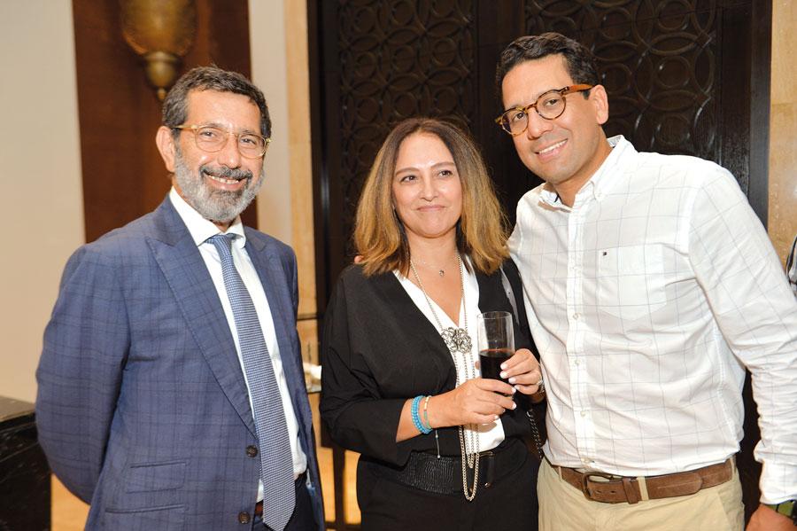 Faiçal Mekouar, Assia Lasri et Rafik Lahlou