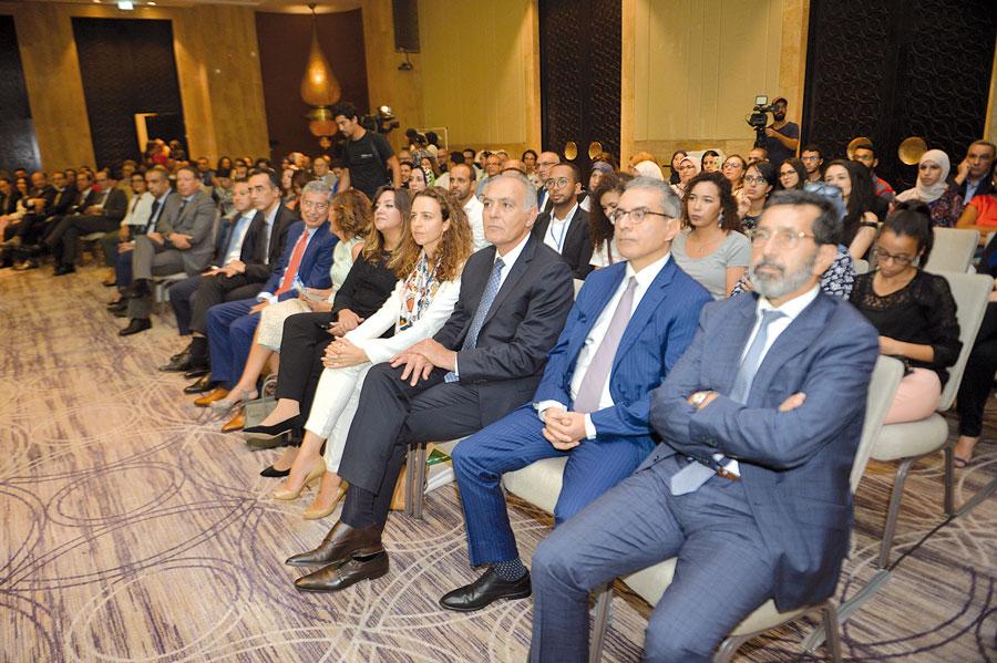 Hind Mejjati Alami, Salaheddine Mezouar et Faiçal Mekouar