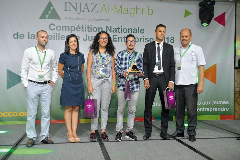 Le Prix I-Tech a été remis par Inwi à Daily Tech de l'université Cadi Ayyad de Marrakech qui a créé une application pour mobiles d'indexation des produits en grande surface. Les étudiants ont été formés par le bénévole M.Arfane et le professeur Khaladi •