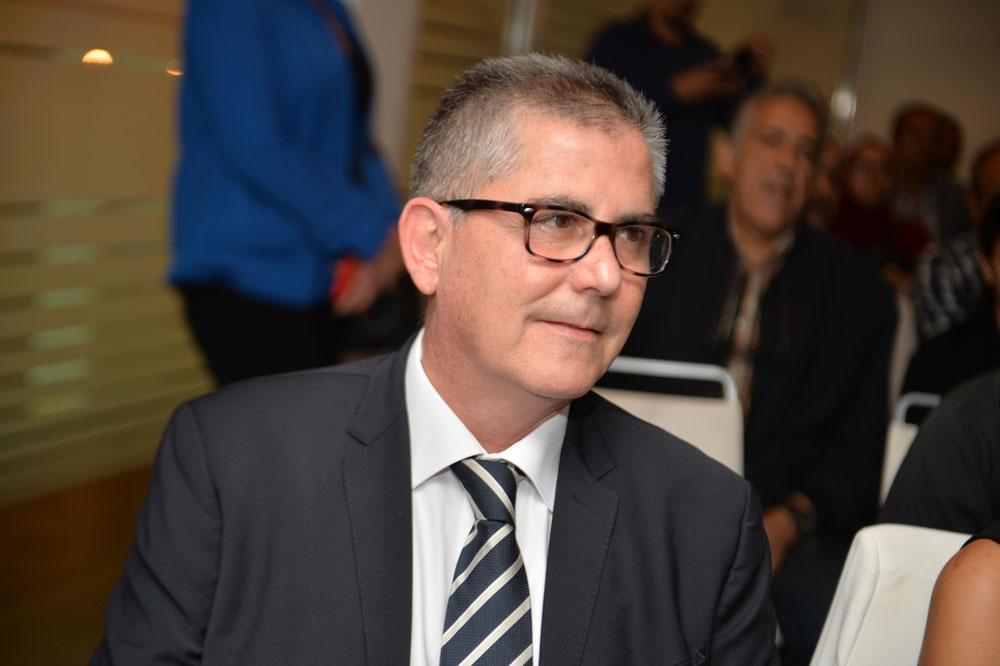 Didier Rosas, directeur général du complexe hôtelier