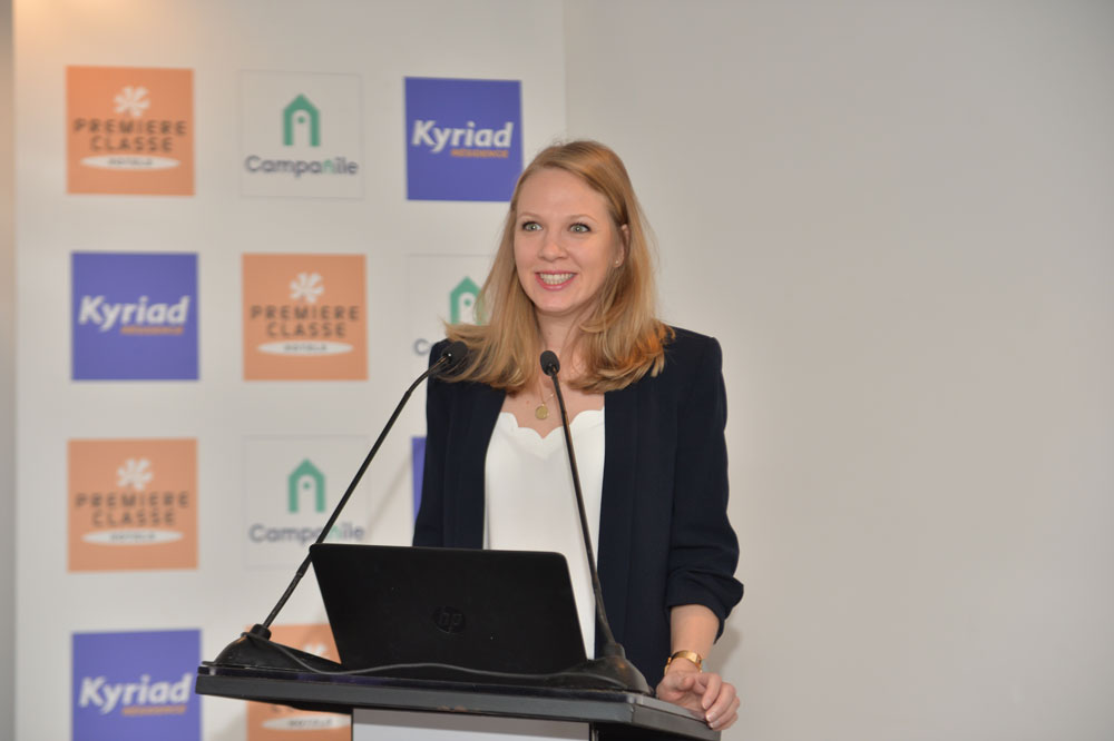Gaëlle Vial Paquet, directrice Marketing de Louvre Hotels Group