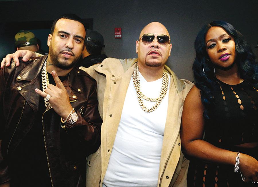 Avec Fat Joe.