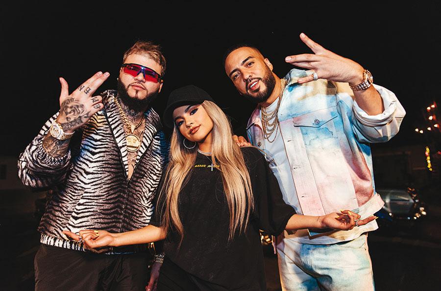 Becky G, French Montana et Farruko.