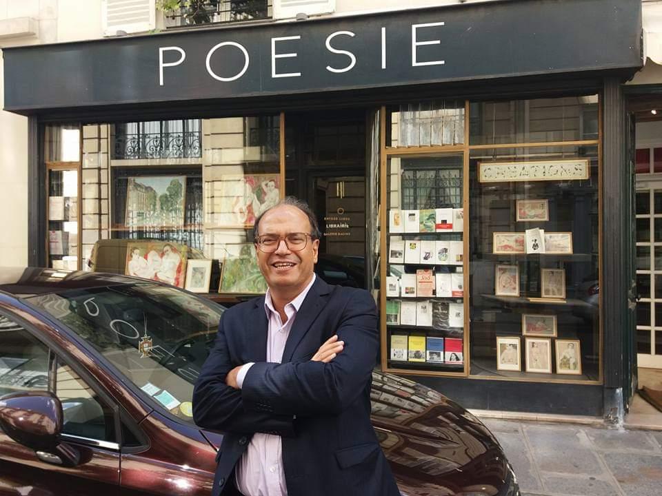 Hassan Najmi, écrivain et homme politique, président du PEN Club