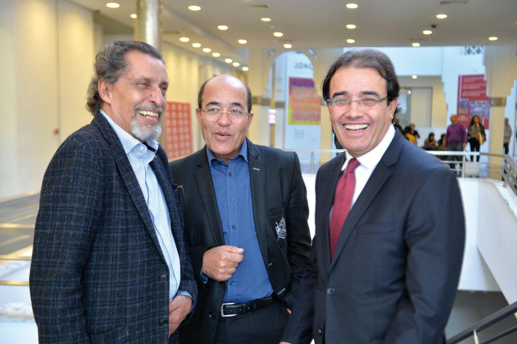 Jamal Eddine Naji, Mohammed Belghouat et Abdelkrim Benatiq