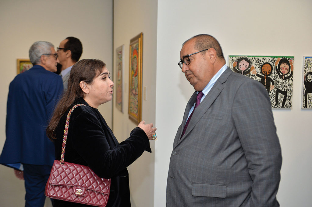 Yasmina Baddou et Driss Lachgar