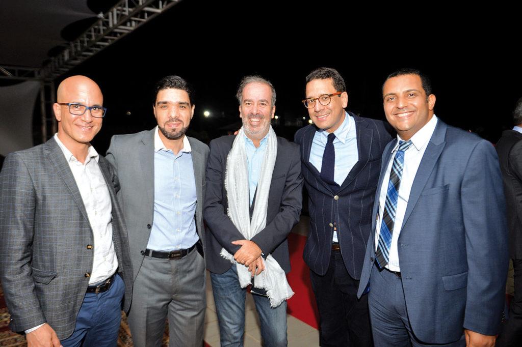 Mohamed Zainabi, Mohammed Ezzouak, Mohamed Douyeb, Rafik Kamal Lahlou et Mounir Jazouli