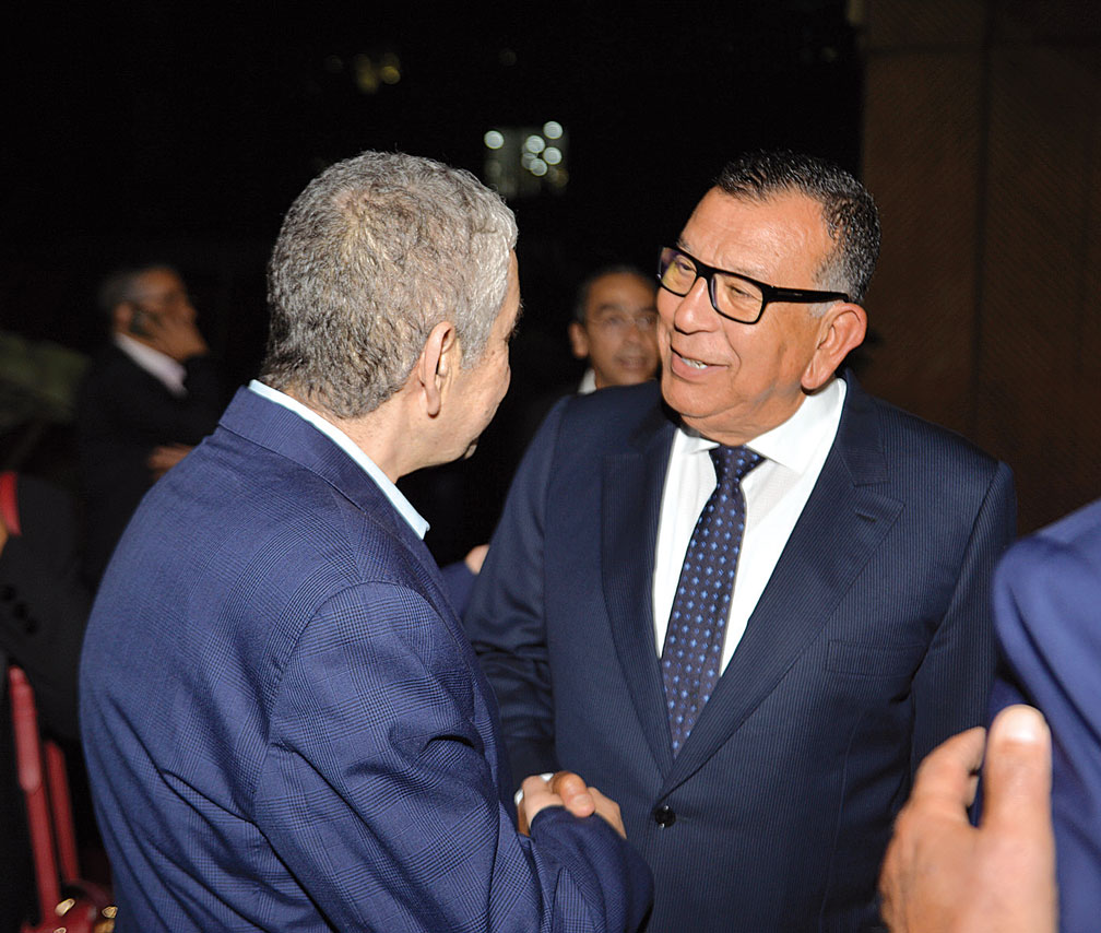 Driss El Yazami et Kamal Lahlou