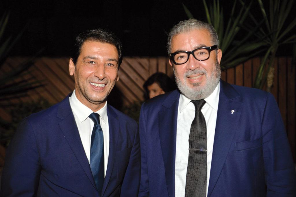 Abderrazak Sitaïl et Khalil Hachimi Idrissi